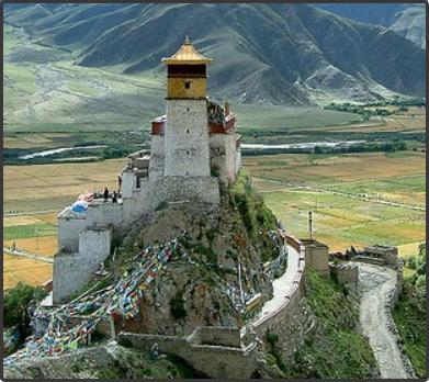 Yumbulagang, Тибет - Построенный более двух тысяч лет назад